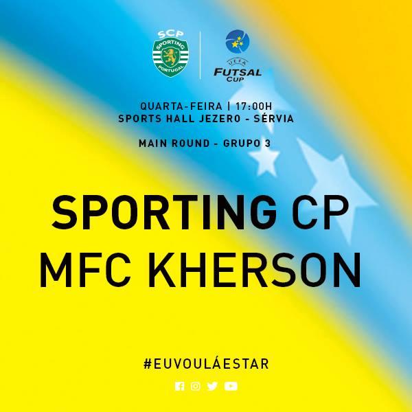 sporting estreia futsal