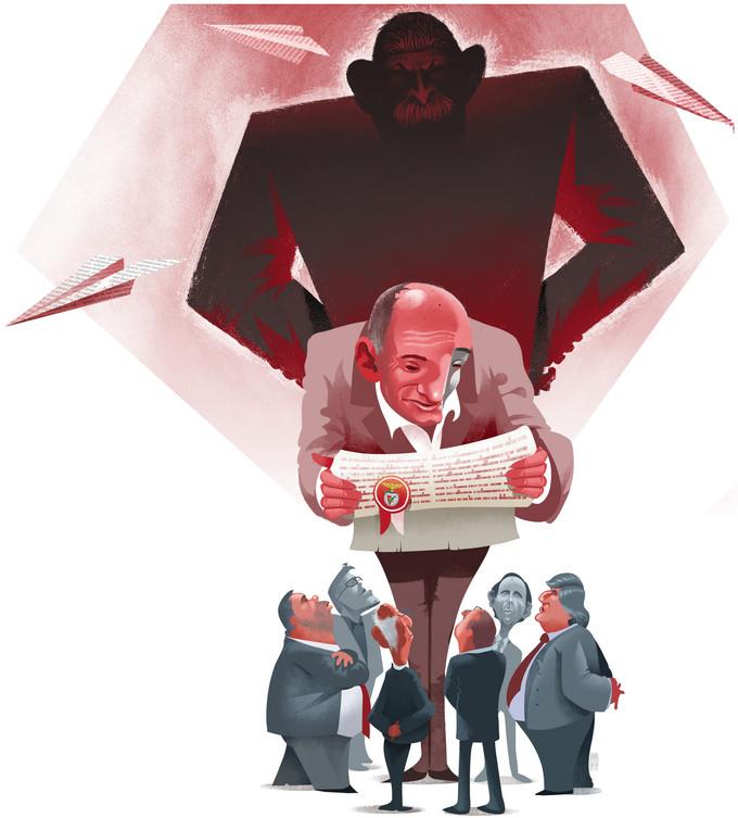 Ilustração Hélder Oliveira/Expresso