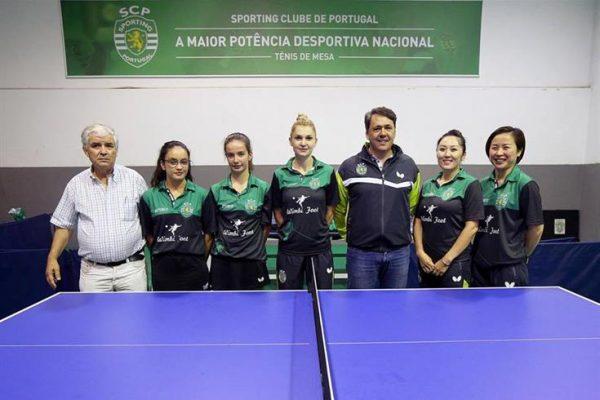tenis mesa feminino sporting