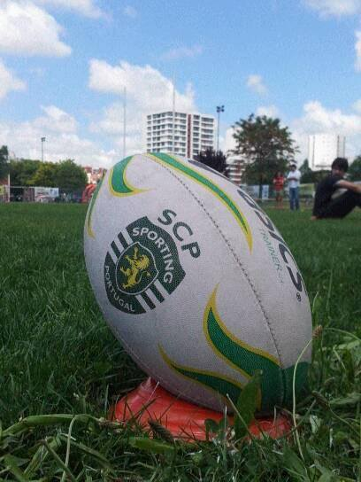 bola rugby sporting