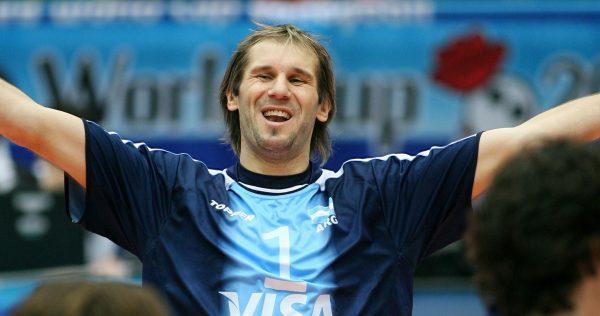 Argentina's captain Marcos MILINKOVIC celebrates