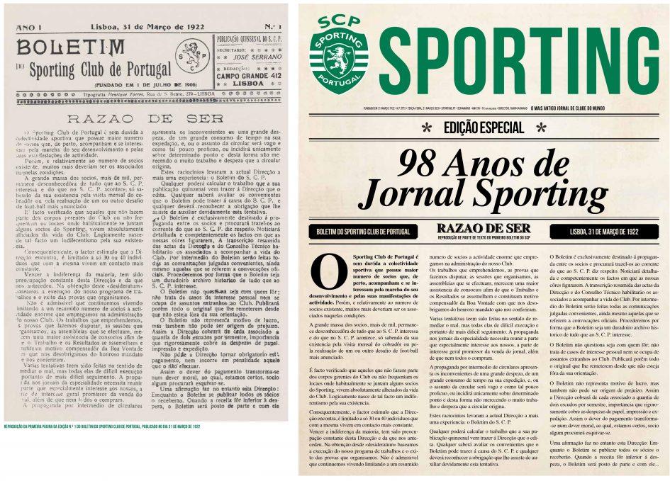 98 anos jornal